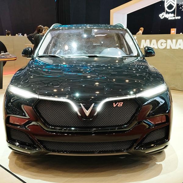 VinFast ra mắt mẫu xe SUV Lux phiên bản đặc biệt tại triển lãm Geneva Motor Show 2019 - Hình 3
