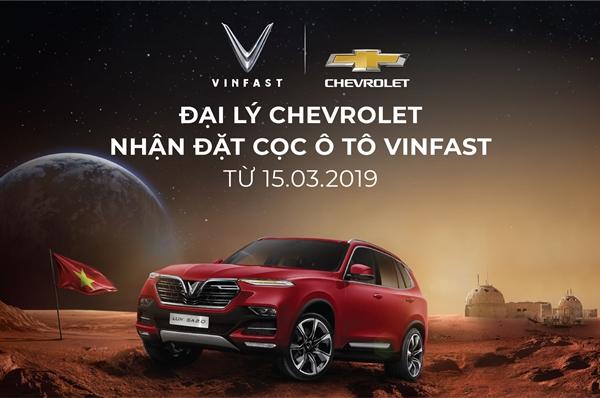 Đại lý Chevrolet chính thức nhận đặt cọc xe ô tô VinFast - Hình 1