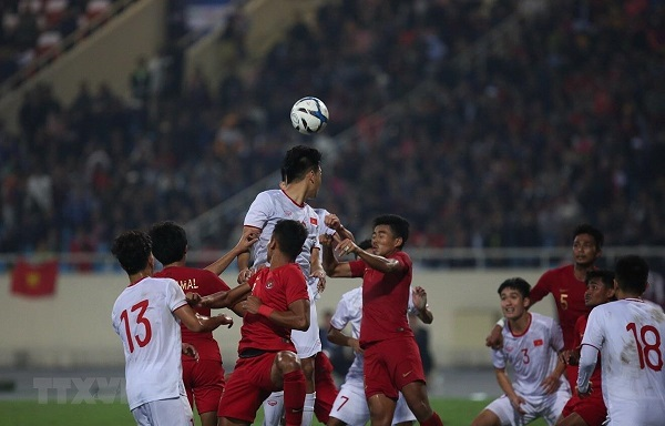 U23 Việt Nam thắng nghẹt thở U23 Indonesia - Hình 1