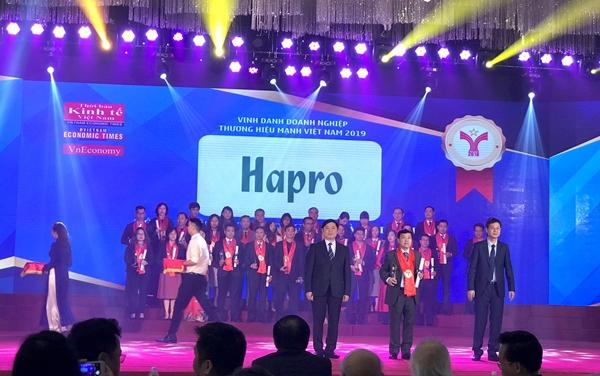 Hapro vinh dự được đón nhận giải thưởng 'Thương hiệu Mạnh Việt Nam' - Hình 1