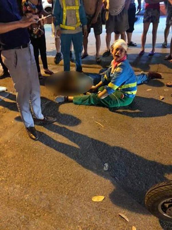 Hàng loạt vụ tai nạn giao thông nghiêm trọng xảy ra tại Hà Nội trong đêm ngày 22/4 - Hình 2