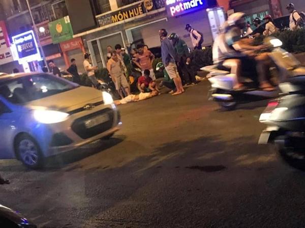 Hà Nội: Công an quận Đống Đa tạm giữ tài xế ô tô gây tai nạn liên hoàn - Hình 1
