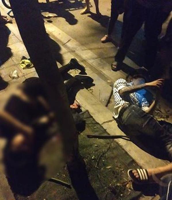 Hàng loạt vụ tai nạn giao thông nghiêm trọng xảy ra tại Hà Nội trong đêm ngày 22/4 - Hình 4