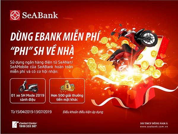 Cùng SeaBank trải nghiệm ngân hàng điện tử và rinh ngay xe SH - Hình 1