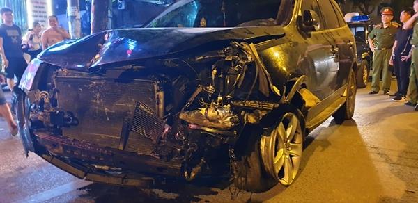 Hà Nội: Công an quận Đống Đa tạm giữ tài xế ô tô gây tai nạn liên hoàn - Hình 2