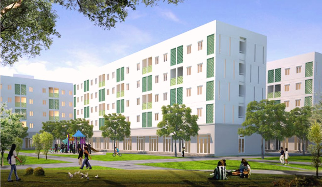 Đà Nẵng: Khởi công công trình nhà ở công nhân lao động KCN Hòa Cầm - Hình 1