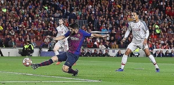Messi tỏa sáng, Barcelona vùi dập Liverpool ở Nou Camp - Hình 1