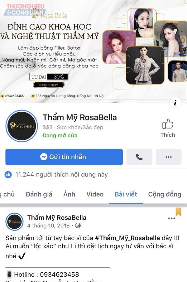 Hà Nội: Bộ Y tế chưa cấp phép, TMV RosaBella đã công khai quảng cáo, thực hiện dịch vụ truyền trắng - Hình 2