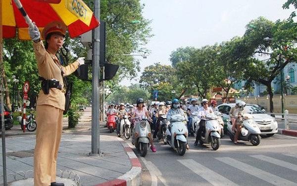 Hà Nội: Tăng cường bảo đảm trật tự an toàn giao thông - Hình 1