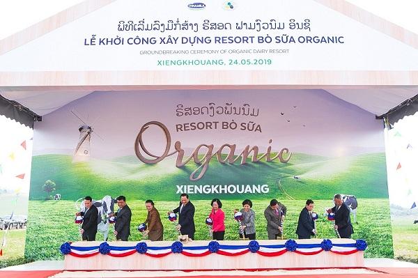 Vinamilk hợp tác với Lào và Nhật xây dựng tổ hợp 'resort' bò sữa organic tại Lào - Hình 3