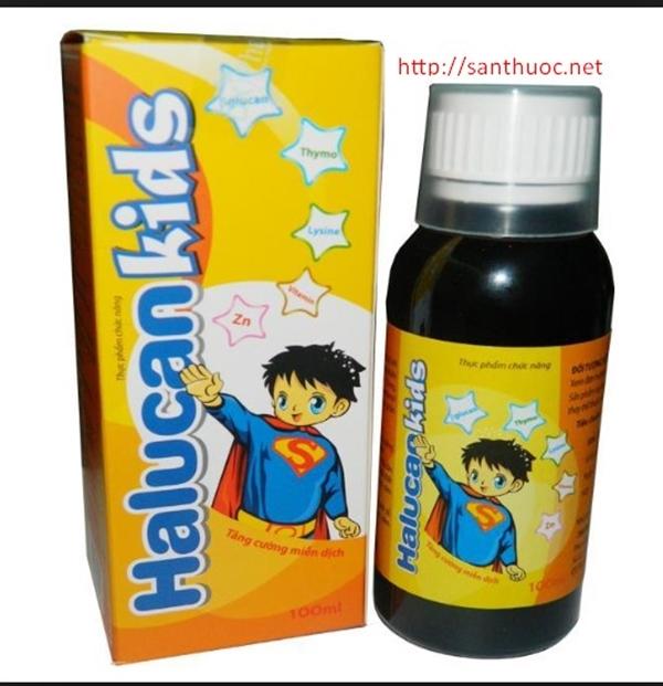 Cẩn trọng khi mua sản phẩm siro Halucan Kids trên một số website - Hình 1