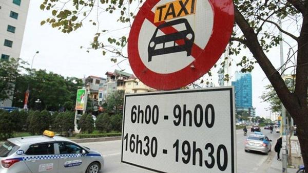Hà Nội: Công bố 11 tuyến đường cấm xe taxi hoạt động vào giờ cao điểm - Hình 1