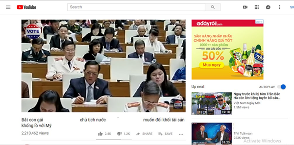 Bộ TT&TT yêu cầu doanh nghiệp dừng quảng cáo trong các video độc hại trên YouTube - Hình 1