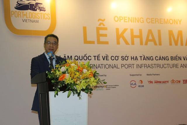 Khai mạc triển lãm quốc tế về cơ sở hạ tầng cảng biển và logistics tại Việt Nam - Hình 1
