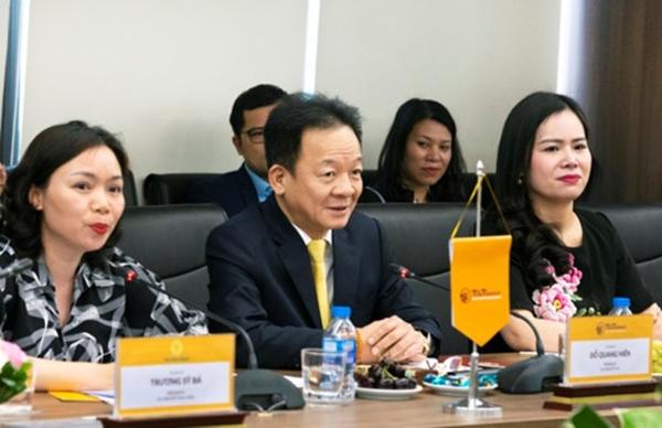 Bộ trưởng Ngoại giao Cộng hòa Bờ Biển Ngà Marcel Amon đến thăm và làm việc tại T&T Group - Hình 1