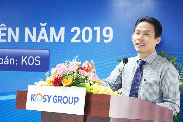 Đại hội cổ đông Kosy: Chốt doanh thu năm 2019 đạt 1.500 tỷ đồng - Hình 2