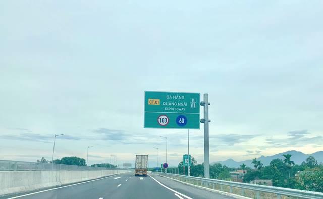 VEC xin thu phí đoạn tuyến trên cao tốc Quảng Nam-Quảng Ngãi - Hình 1