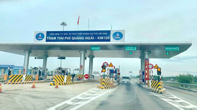 VEC xin thu phí đoạn tuyến trên cao tốc Quảng Nam-Quảng Ngãi - Hình 2