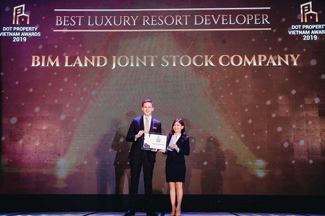 BIM Land được xướng tên hạng mục Best Luxury Resort Developer Vietnam 2019 - Hình 1