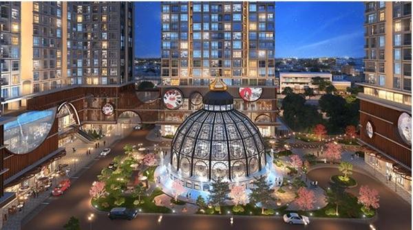 Hinode City: Kiến trúc không gian vượt trội, biểu tượng thịnh vượng vượt thời gian - Hình 3
