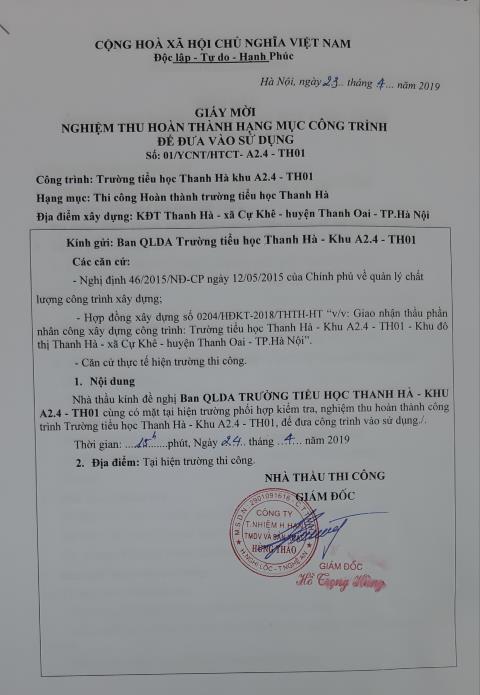Xung quanh thông tin Trường Victoria Thăng Long tuyển sinh 'chui' - Hình 11