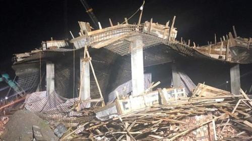 Hải Phòng: Đã tìm thấy nạn nhân cuối cùng trong vụ sập giàn giáo tại xã Bắc Sơn - Hình 1