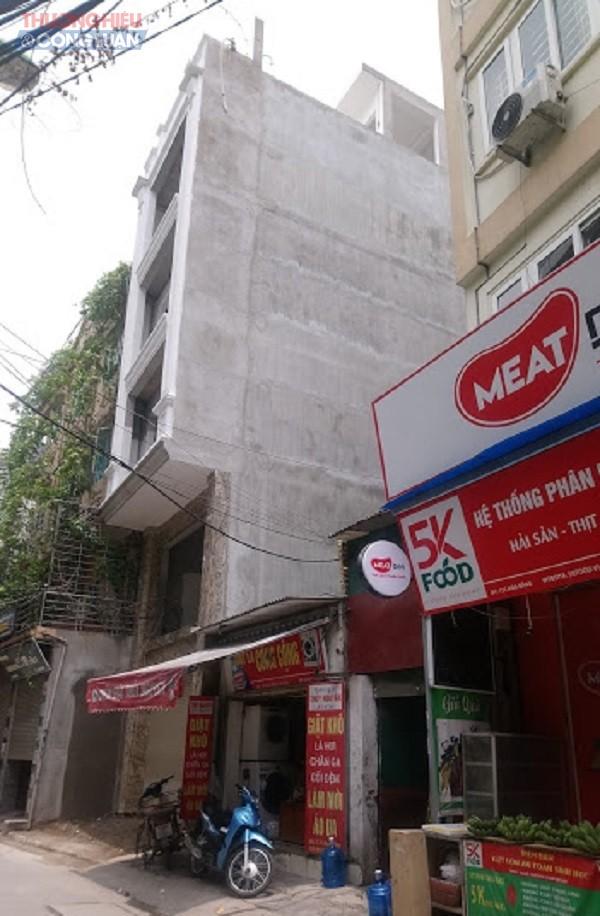 Cầu Giấy (Hà Nội): Tình trạng vi phạm TTXD lại tái diễn tại địa bàn phường Yên Hòa - Hình 5