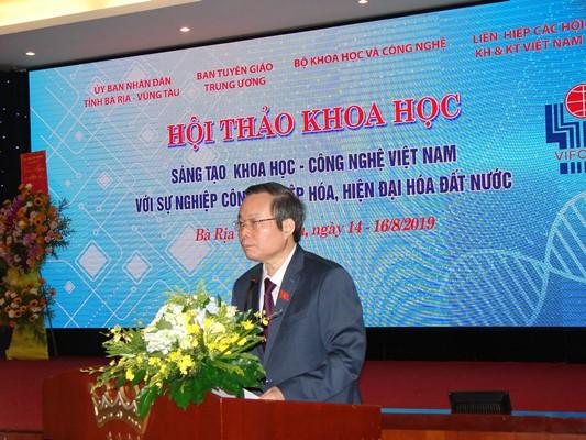 BR-VT: Hội thảo sáng tạo khoa học & công nghệ Việt Nam với sự nghiệp CNH-HĐH đất nước - Hình 1