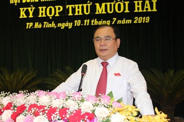 Kỷ luật Chủ tịch Hội đồng nhân dân TP. Hà Tĩnh - Hình 1