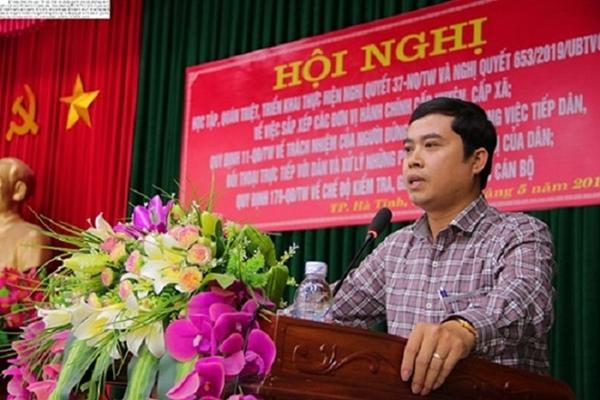 Kỷ luật Chủ tịch Hội đồng nhân dân TP. Hà Tĩnh - Hình 2