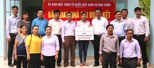 EVN CPC và PC Đà Nẵng: Bàn giao nhà đại đoàn kết cho hộ nghèo - Hình 1