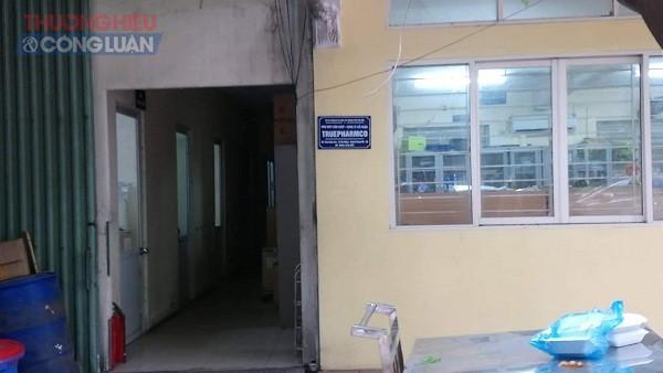 Trụ sở Công ty CPTruePharmCo tại thôn Nghĩa Hào, xã Phú Mỹ (Chương Mỹ, Hà Nội)