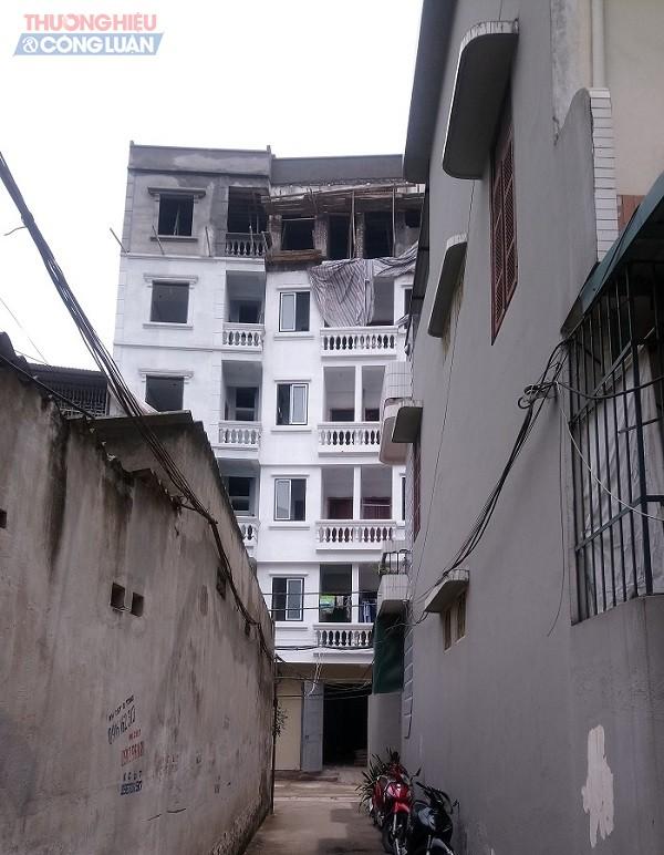 Công trình tại ngõ 255/36 đường Nguyễn Khang