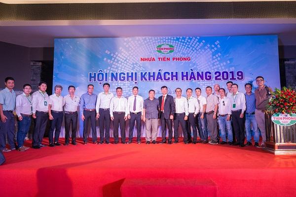 Ban Lãnh đạo Công ty NTP và khách mời tại đêm nhạc Gala Dinner HNKH 2019