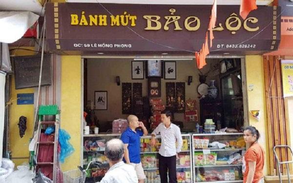 Đình chỉ 01 tháng hoạt động sản xuất sản phẩm bánh dẻo thập cẩm đối với cơ sở sản xuất bánh trung thu Bảo Lộc