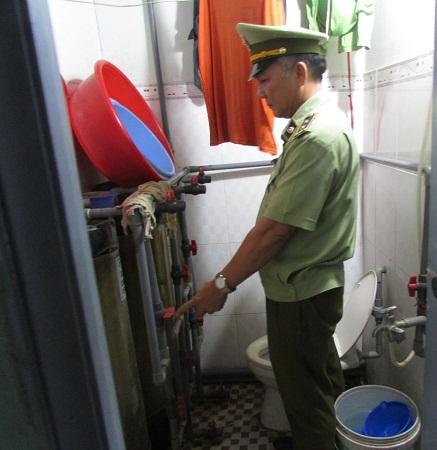 Nguồn nước cấp trực tiếp chưa qua xử lý dùng để pha chế nước mắm