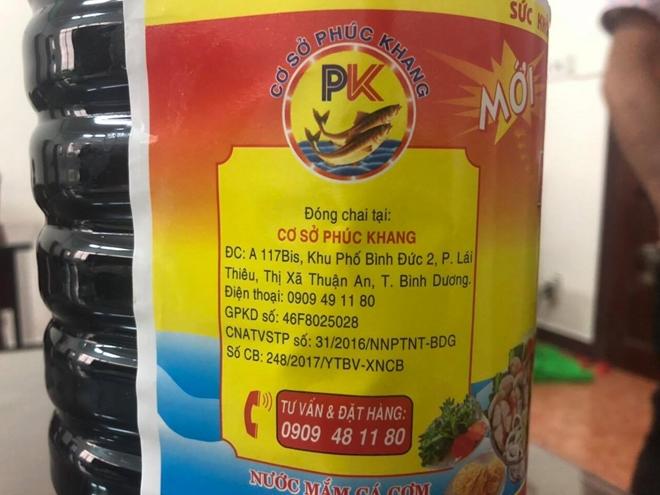 Nhãn dán trên sản phẩm