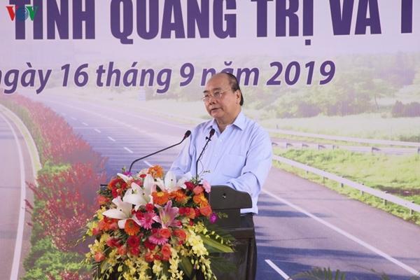Thủ tướng Chính phủ Nguyễn Xuân Phúc phát biểu tại lễ khởi côngThủ tướng Chính phủ Nguyễn Xuân Phúc phát biểu tại lễ khởi công