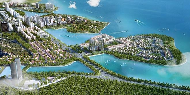 Halong Marina nằm giữa Bãi Cháy và Tuần Châu – nơi được coi là điểm giao hòa giữa Đất, Trời và Biển