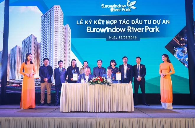 Đơn vị phát triển dự án Eurowindow Holding và Công ty Cổ phần Bất động sản Thế Kỷ (CenLand) ký kết hợp tác đầu tư dự án Eurowindow River Park.