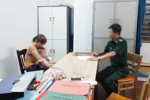 Bùi Thị Thủy tại cơ quan điều tra