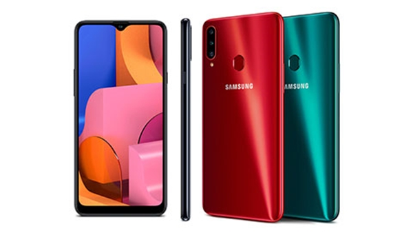 Galaxy A20s sẽ có màn hình Infinity-V 6,5 inch với độ phân giải HD+