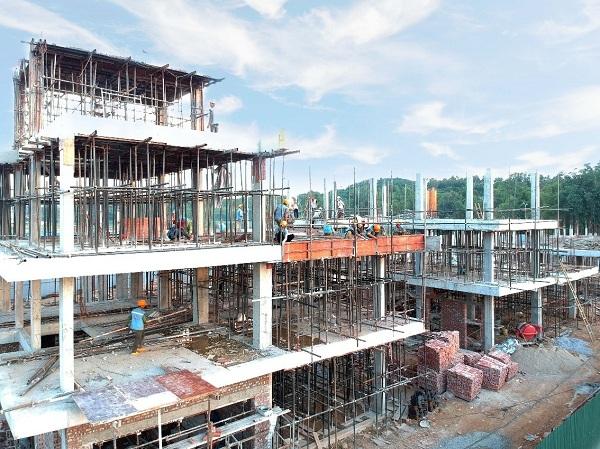 Dự án TNR Stars Centre đang hoàn thiện những khâu cuối cùng để chuẩn bị bàn giao