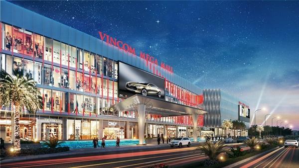 Vincom Mega Mall Ocean Park cho mọi khách hàng cảm nhận rõ những dòng chảy ngầm và đường bờ biển xanh
