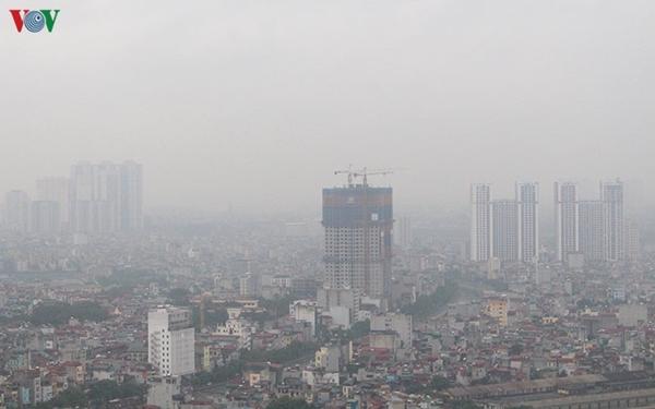 Chất lượng không khí ở Hà Nội đang xuống thấp