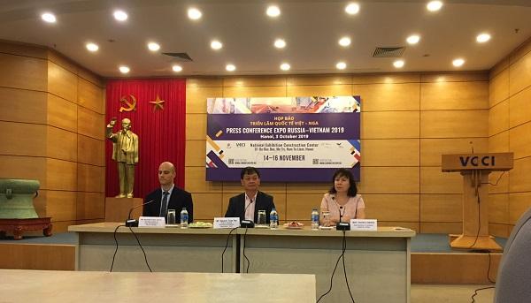 Phòng Thương mại và công nghiệp Việt Nam (VCCI) tổ chức họp báo thông tin về sự kiện