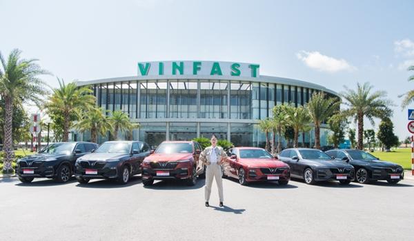 Ngô Thanh Vân khoe dáng bên dàn xe VinFast sang trọng và đẳng cấp
