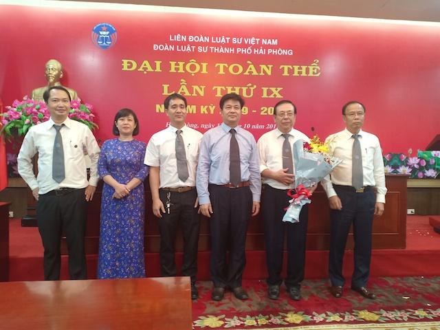 Ban chủ nhiệm Đoàn Luật sư Hải Phòng nhiệm kỳ 2019 - 2024