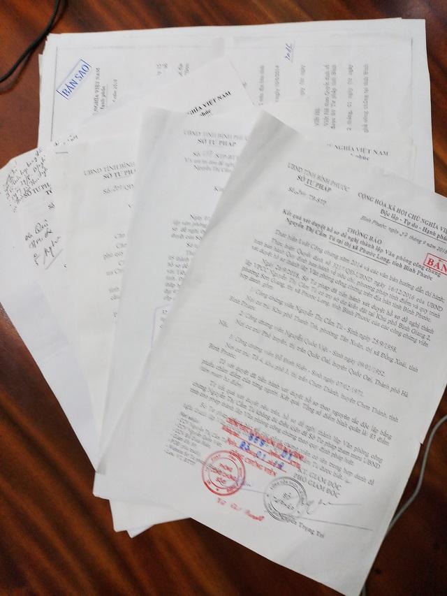 Sở Tư pháp tỉnh Bình Phước ban hành nhiều văn bản giải quyết đơn không đúng quy định.