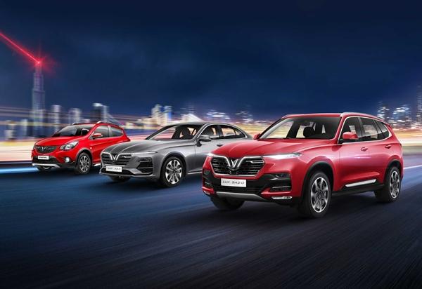 Vietnam Motor Show 2019 sẽ là màn trình diễn sản phẩm và công nghệ đỉnh cao từ VinFast.